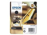 Cartridge Epson 16XXL zeer hoge capaciteit zwart voor inkjetprinter