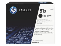 Toner HP81X hoge capaciteit zwart voor laserprinter