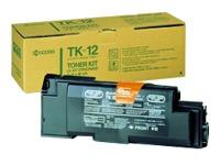 TK12 KYOCERA FS1550 TONER BLACK
