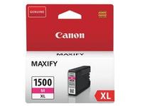 Canon PGI1500XL cartridge hoge capaciteit aparte kleuren voor inkjetprinter