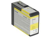 Epson T5804 - geel - origineel - inktcartridge (C13T580400)