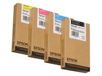 Epson T6122 - cyaan - origineel - inktcartridge (C13T612200)