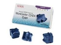 Xerox Genuine Xerox WorkCentre C2424 - 3 - cyaan - vaste inkten (108R00660)
