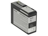 Epson T5801 - fotozwart - origineel - inktcartridge (C13T580100)