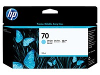 HP 70 - lichtcyaan - origineel - inktcartridge (C9390A)