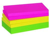 Herkleefbare notes neon Maxiburo 75 x 125 mm