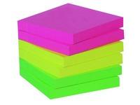 Herkleefbare notes neon Maxiburo 75 x 75 mm
