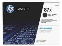 HP 87X toner hoge capaciteit zwart voor laserprinter