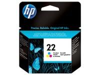 HP 22 - kleur (cyaan, magenta, geel) - origineel - inktcartridge (C9352AE#UUS)