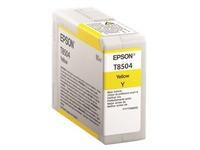 Epson T8504 - geel - origineel - inktcartridge (C13T850400)