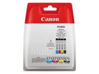 Canon CLI-571 C/M/Y/BK Multipack - 4 - zwart, geel, cyaan, magenta - origineel - inkttank