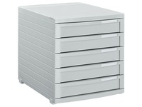 Classification module Contur Han 5 closed drawers grey