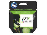 HP 304XL Cartridge hoge capaciteit 3 kleuren voor inkjetprinter