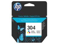 HP 304 Cartridge inkt 3 kleuren voor inkjetprinter