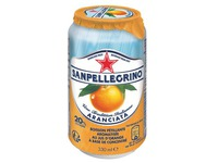 Cans San Pellegrino Aranciata 33cl - box of 24