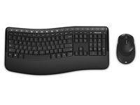 Keyboard and mouse set Microsoft Wireless Comfort Desktop 5050 - French