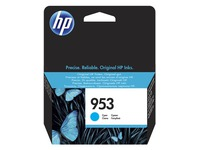 HP 953 - cyan - original - ink cartridge