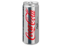 Doos 24 blikjes Coca Cola Light 33 cl
