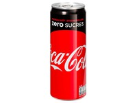 Pack of 24 cans Coca Cola Zero 33 cl