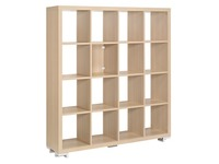 Shiny, bookcase, 16 compartments