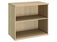 Low book case oak Arko H 73 x W 80 cm
