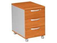 Mobile drawer cabinet Osaka 3 drawers