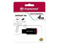 Transcend JetFlash 360 - USB flash drive - 4 GB