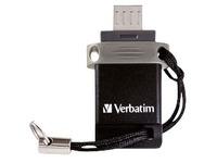 Verbatim Dual Drive - USB-flashstation - 32 GB (49843)
