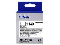Epson LabelWorks LK-8WBWAC - gesneden etiketten met kleur - 140 stuks (C53S658903)