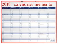 Aurora Memento-kalender 2018 Frans