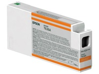 Epson UltraChrome HDR - oranje - origineel - inktcartridge (C13T636A00)