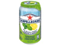 Limone e menta San Pellegrino can 33 cl - pack of 24