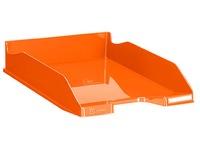 Corbeille à courrier Exacompta combo 2 Iderama tangerine