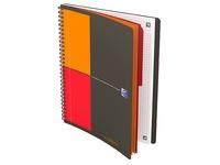 Spiraalschrift Oxford Activebook B5 17,6 x 25 cm - 4 gaatjes - kleine ruitjes - 160 vellen