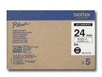 Brother HG151V5 - gelamineerde tape - 5 rol(len)