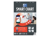 Blocs papier Smart chart quadrillé