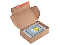 Colompac verzenddoos Modulbox, binnenformaat 305 x 210 x 91 mm, bruin