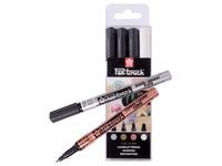 Sakura paint marker Pen-Touch, set van 4 stuks in geassorteerde kleuren