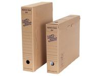 Loeff's boîte d'archives Space box, ft 320 x 240 x 60 mm, brun, paquet de 8 pcs