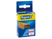 Staples Rapid baby 8/4 copper - box of 5000