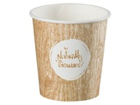 Cup 'Bioware' compostable in disposable cardboard 10 cl - box of 400 pieces