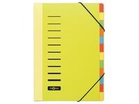 Pagna trieur Trend pour ft A4, 12 compartiments, jaune