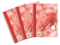 Work, cahier, ft A4, quadrillé, 100 pages
