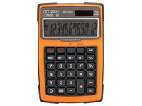 Citizen calculatrice robuste, Imperméable à l'eau et à la poussière, orange