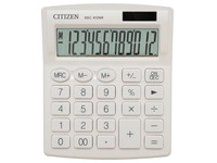 Citizen calculatrice de bureau SDC-812, blanc
