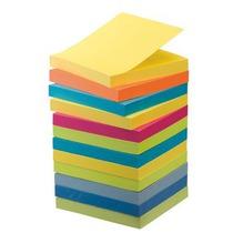 Pack 9 + 3 gratis notes Post-it fruitige kleuren 76 x 76 mm