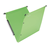 groene hangmap gekleurde hangmap